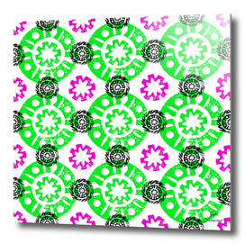 Native mandala pattern