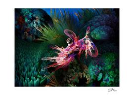 The Fractal Underwater