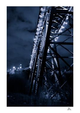 High Level Bridge At Night...