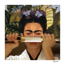 Kill Bill's O-Ren Ishii & Frida Kahlo