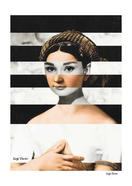 Raphael's Fornarina & Audrey Hepburn