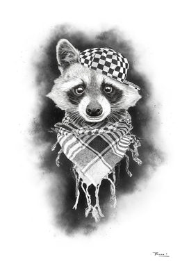 Rocco Raccoon - white version