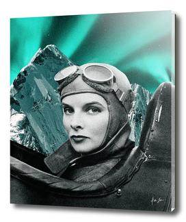 Northern Lights Pilot Print