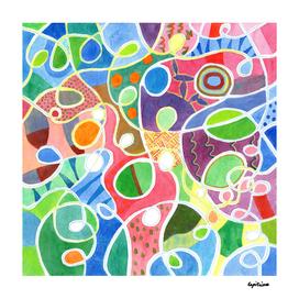 Jubilant Loops Pattern