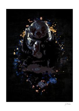 Fallout Splatter Painting