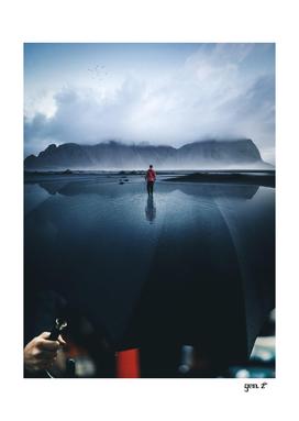 Sky Lake Umbrella by GEN Z