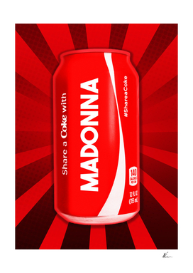Share a Coke with Madonna | Coca Cola | Pop Art
