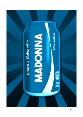 Share a Coke with Madonna | Coca Cola | Pop Art