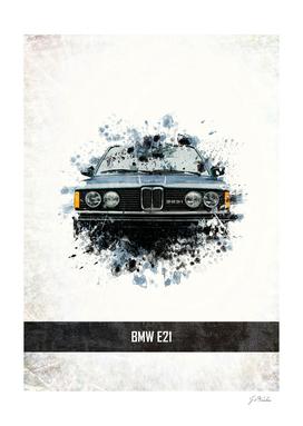 BMW E21 Splatter Painting