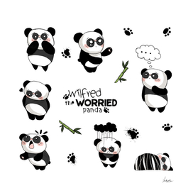 wilfred the worried panda