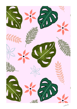 Tropical Monstera
