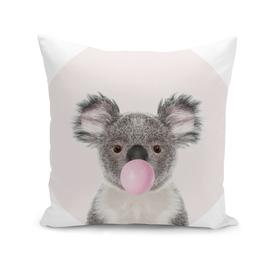 Koala Bear with Bubble Gum