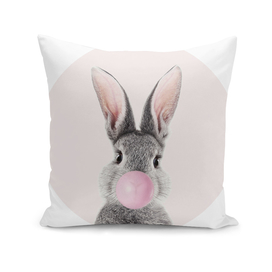 Bunny With Bubble Gum