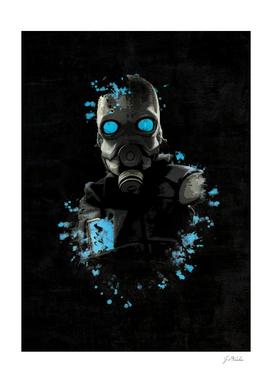 Half Life 2 Splatter Painting