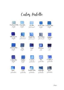 calm palette
