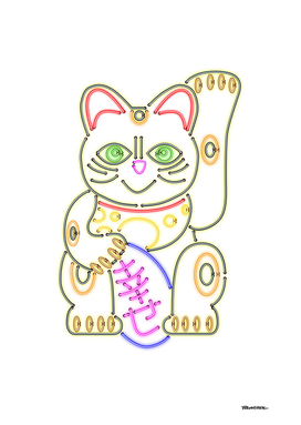 Maneki-Neko Neon – Good Luck