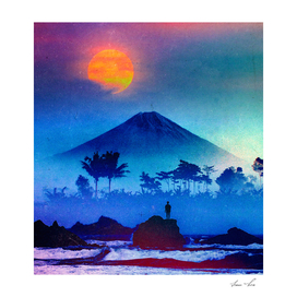 The Volcano And The Sunset