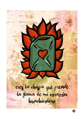 Huachicolero heart