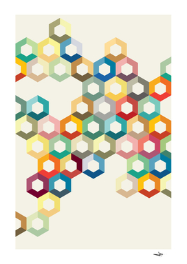 Colourful Honeycomb