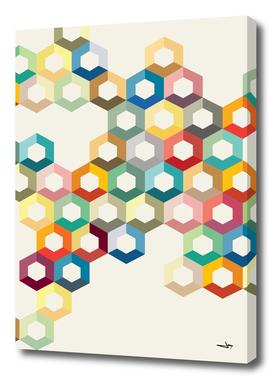 Colourful Honeycomb
