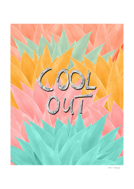 COOL OUT #2 #motivational #typo #decor #art