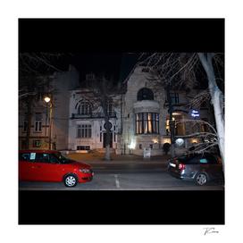 Restaurant Queen Elisabeth at Night