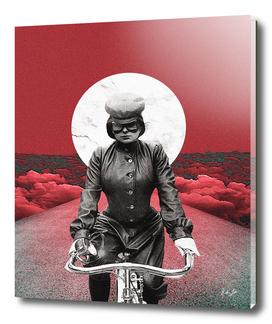 Sky High Bike Rides Print