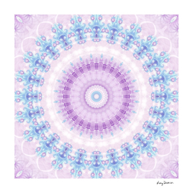 Pastel Purple & Blue Mandala