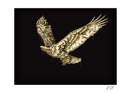 Aigle en or