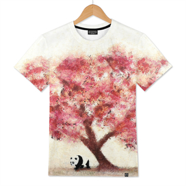 Cherry Blossom and Panda