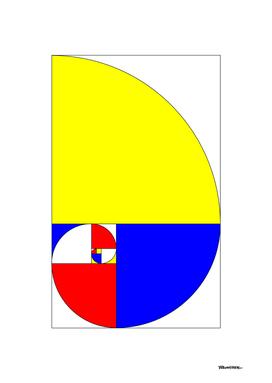 Mondrian in a Fibo-Style