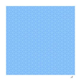 Original Handmade Pattern - Blue Magic