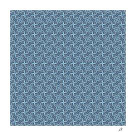 Original Handmade Pattern - Royal Swirls