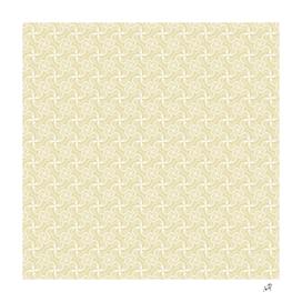 Original Handmade Pattern - Golden Swirls