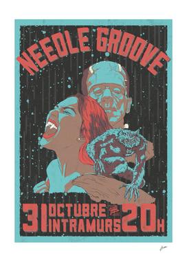 Needle Grove's Halloween Poster