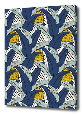 Tropical, Banana Leaf Print