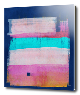 Abstract indigo navy pink