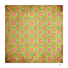 Vintage rasta pattern