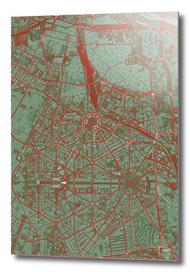 New Delhi map pop