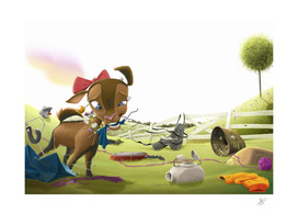 B - the curiuos goat