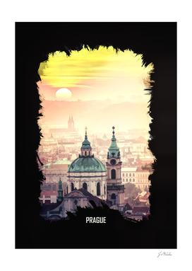 Prague Oil Painting