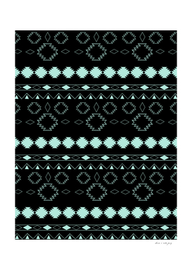 Tribal Boho Pattern Chic #3 #aztec #decor #art