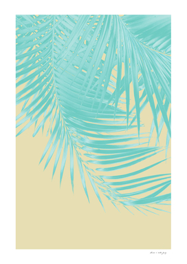 Palm Leaves Summer Vibes #12 #tropical #decor #art