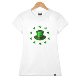 St. Patricks Day. Green hat