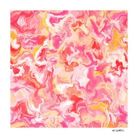 Summer Marbled Liquid Art