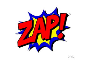 zap comic book fight