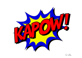 kapow comic comic book fight