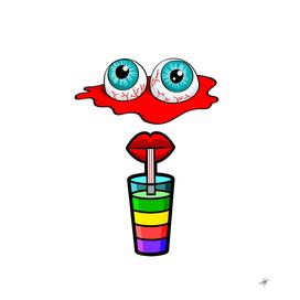 Animation eyes cartoon cute comic