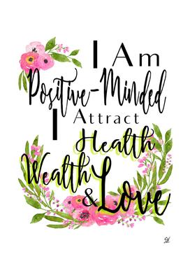 Motivational Health Wealth & Love Words