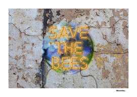 Save the Bees - Neon